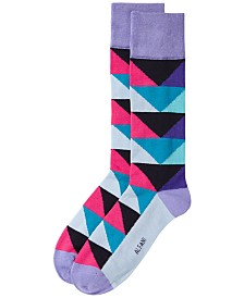 Alfani Men's Triangle Socks, Created for Macy's