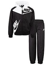 Nike Toddler Boys 2-Pc. Sportswear Colorblocked Windrunner Jacket & Pants Set