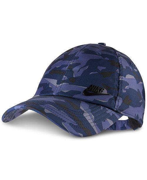 7b4a0a1bc44b3e Nike Sportswear AeroBill Camo Cap; Nike Sportswear AeroBill Camo Cap ...