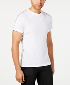 Versace Men's Logo Taped T-Shirt