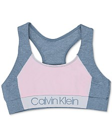 Calvin Klein Little & Big Girls Logo Sports Bra