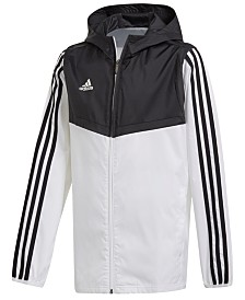 adidas Big Boys Original Tiro Hooded Windbreaker Jacket