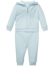Polo Ralph Lauren Baby Boys French Terry Hoodie & Pants Set