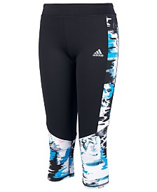 adidas Little Girls Run Climalite® Capri Tights