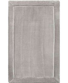 Home Dynamix Christian Siriano Spa Retreat Memory Foam Borders Embossed Microfiber Bath Mat