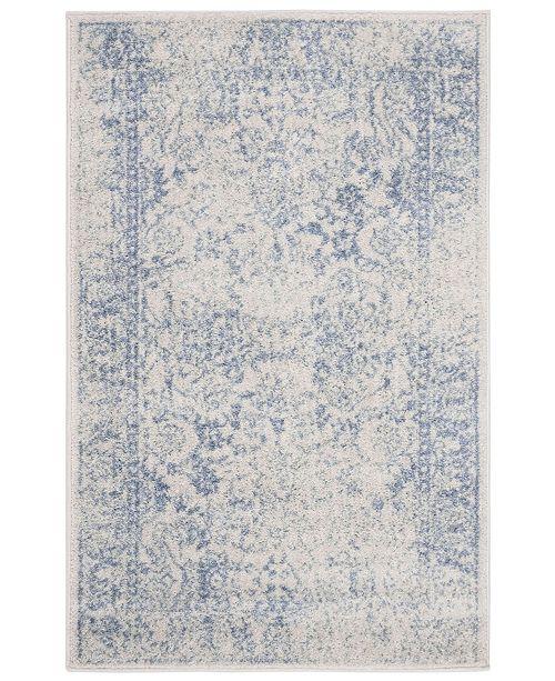 Safavieh Adirondack Ivory and Light Blue 3' x 5' Area Rug