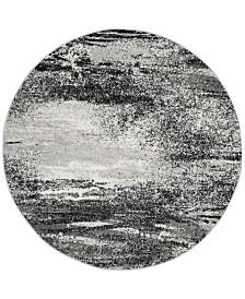 Safavieh Adirondack Silver and Multi 6' x 6' Round Area Rug