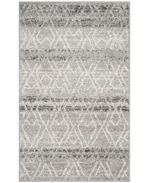 Safavieh Adirondack 124 Silver and Ivory Area Rug Collection