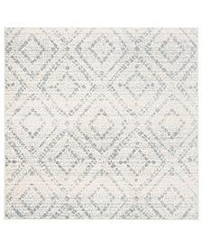 Safavieh Adirondack Ivory and Light Blue 6' x 6' Square Area Rug