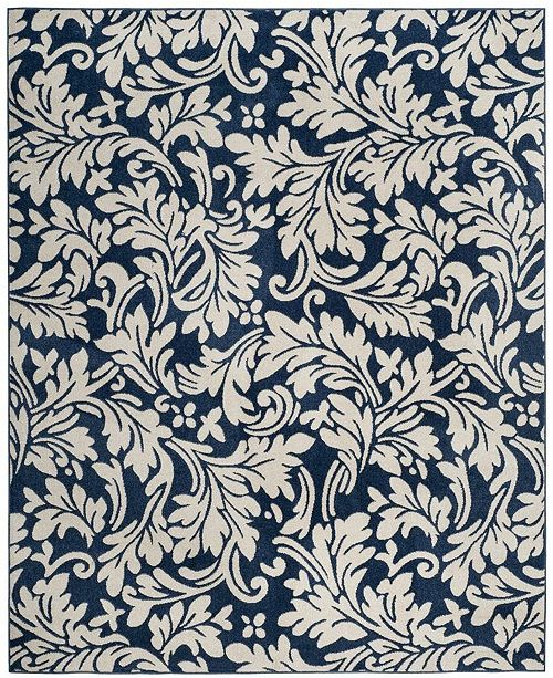 Safavieh Amherst Navy and Ivory 8' x 10' Area Rug