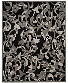 Amherst Anthracite and Light Gray 8' x 10' Area Rug