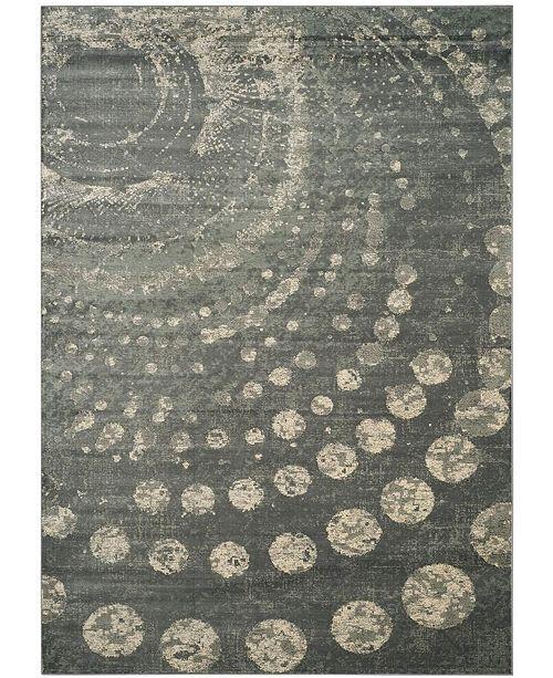 "Safavieh Constellation Vintage Light Gray and Multi 8' x 11'2"" Area Rug"