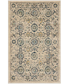 Safavieh Evoke Beige and Turquoise 3' x 5' Area Rug