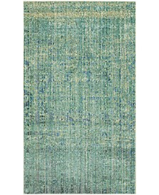 Mystique Green and Multi 3' x 5' Area Rug