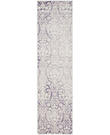 "Safavieh Passion Lavender and Ivory 2'2"" x 8' Area Rug"