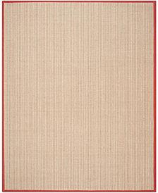 Safavieh Natural Fiber Rust 8' x 10' Sisal Weave Area Rug