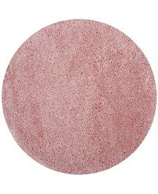 "Safavieh Polar Light Pink 6'7"" x 6'7"" Round Area Rug"