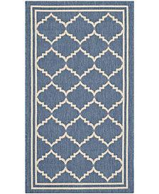 "Safavieh Vintage Persian Blue and Light Blue 2'2"" x 8' Area Rug"