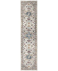 Safavieh Aria Cream and Multi 2' x 8' Runner Area Rug