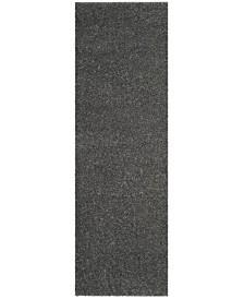 "Safavieh Arizona Shag Dark Grey 2'3"" x 8' Sisal Weave Runner Area Rug"