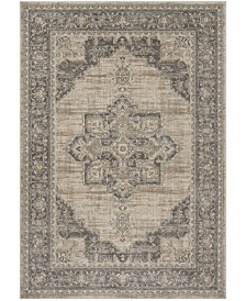 "Safavieh Brentwood Cream and Gray 5'3"" x 7'6"" Area Rug"