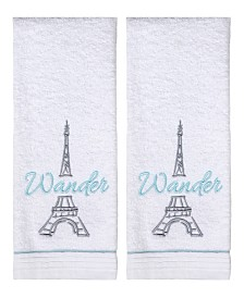 Wander Paris 2-Pc. Hand Towel Set