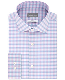 Michael Kors Men's Slim-Fit Non-Iron Performance Check Dress Shirt