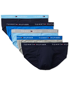 Tommy Hilfiger Men's 5-Pk. Cotton Classics Briefs