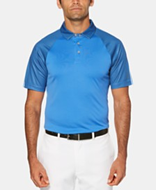 PGA TOUR Men's Big & Tall Colorblocked Golf Polo