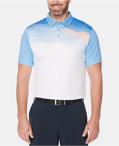 PGA TOUR Men's Pixelated Polo
