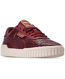 Puma Women's California Croc Casual Sneakers from Finish Line