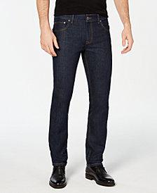 I.N.C. Men's Slim Straight Fit Dark Jeans, Created for Macy's