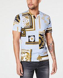 I.N.C. Men's Broken Scrolls T-Shirt, Created for Macy's