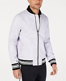 INC Men's Full Bloom Baseball Jacket, Created for Macy's