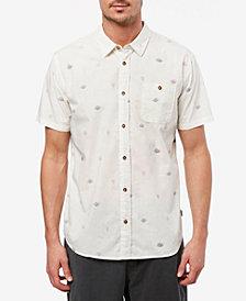 Jack O'Neill Men's Deep Water Short Sleeve Woven Shirt