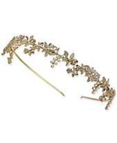 bf2a988df30 I.N.C. Gold-Tone Crystal   Imitation Pearl Headband