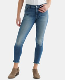 Lucky Brand Ava Distressed Capri Jeans