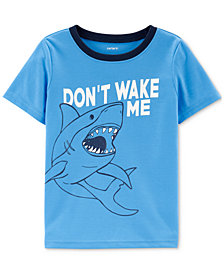 Carter's Little Boys Don't Wake Me Graphic Pajama Top