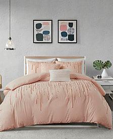 Urban Habitat Paloma Full/Queen 5 Piece Cotton Duvet Cover Set