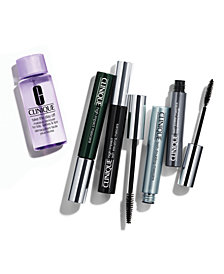 Receive a FREE Take the Day off for Lips, Lashes, and Lids with any Clinique Mascara purchase!
