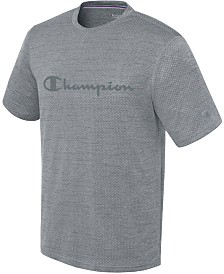 Champion Men's Double Dry Logo T-Shirt