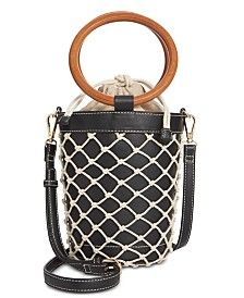 I.N.C. Fisherman Bucket Bag, Created for Macy's