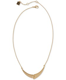 "Laundry by Shelli Segal Gold-Tone Puzzle Pendant Necklace, 16"" + 2"" extender"
