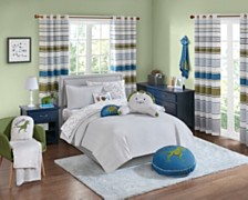 Urban Dreams Dusty The Dino Full/Queen 3-Pc. Quilt Mini Set, Created for Macy's