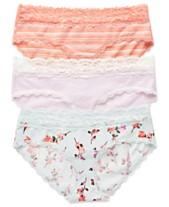 1a3811cb29d3 Jessica Simpson Maternity Bikini Briefs, 3-Pack