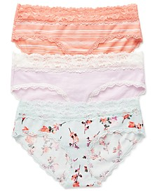 Jessica Simpson Maternity Bikini Briefs, 3-Pack