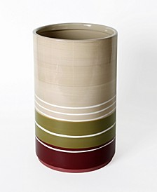 Ltd. Madison Stripe Waste Basket