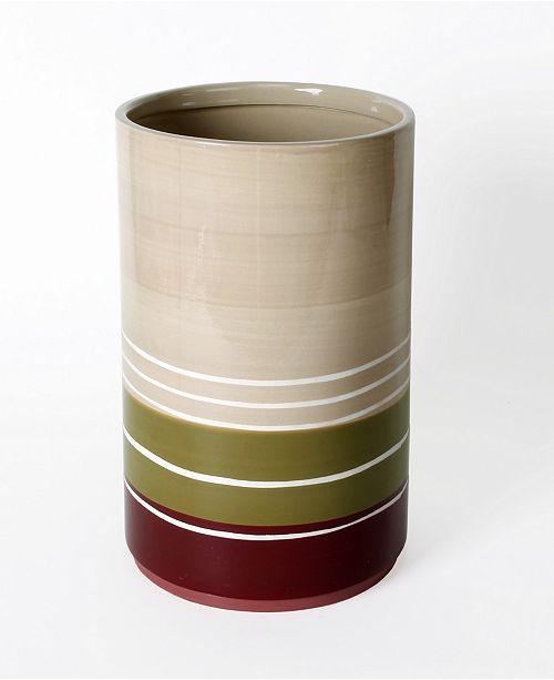 Saturday Knight Ltd. Madison Stripe Waste Basket