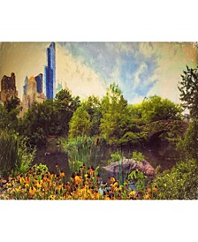 """Central Park Painted Gallery-Wrapped Canvas Wall Art - 16"""" x 20"""""""