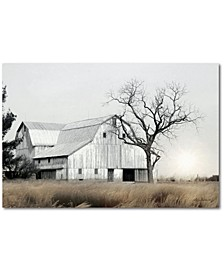 "Country farm with Old Oak Gallery-Wrapped Canvas Wall Art - 24"" x 36"""
